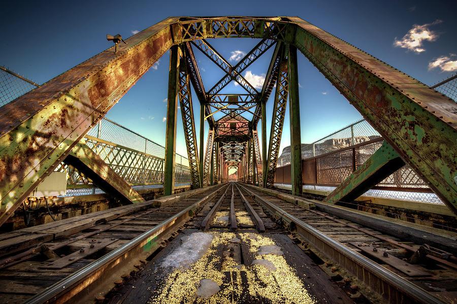 Abandoned Photograph - James Street Swing Bridge by Jakub Sisak