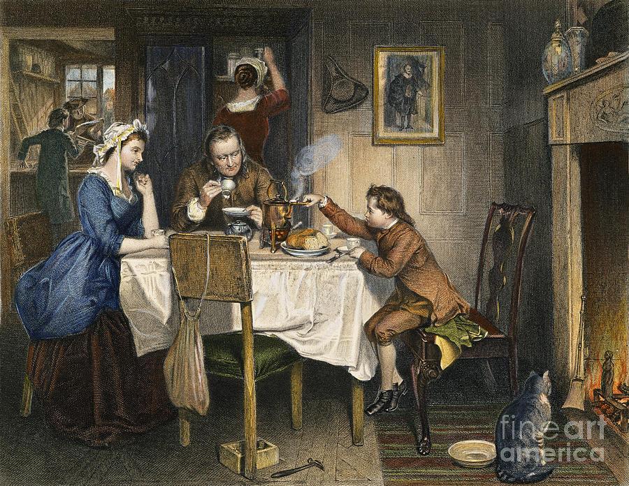 18th Century Photograph - James Watt (1736-1819) by Granger