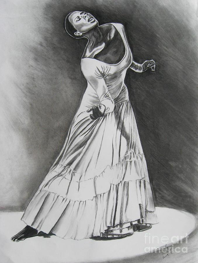 Dancer Drawing - Jamison by Toni  Thorne