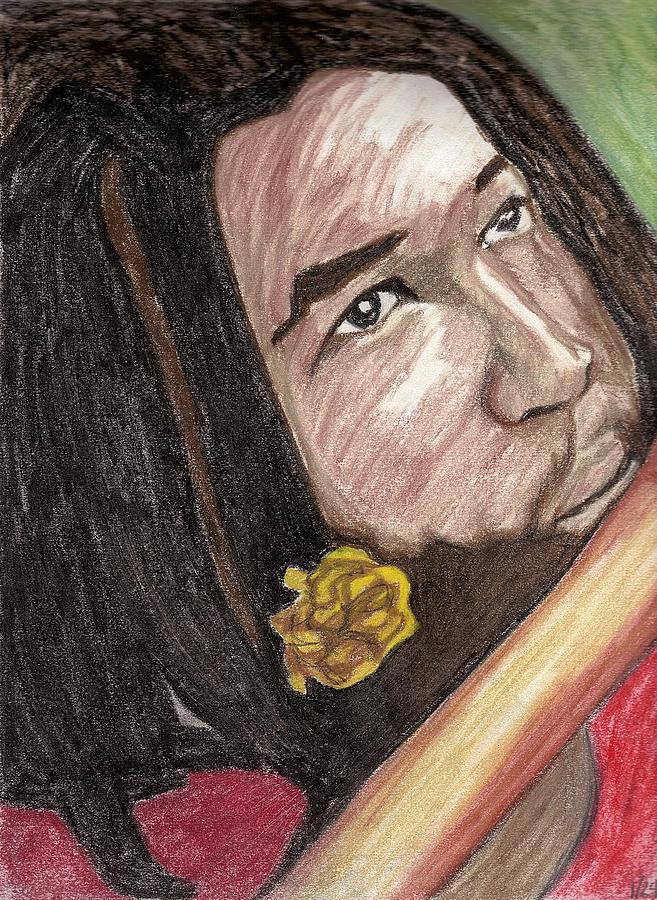 Man Pastel - Jammin by Jean Haynes