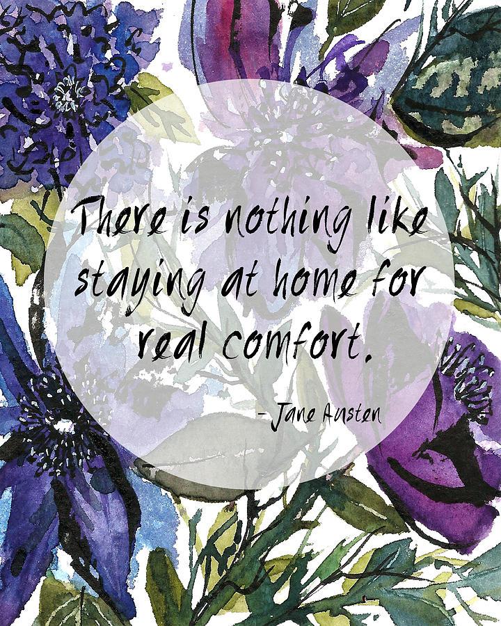 Jane Austen Quotes Series I Painting By Garima Srivastava