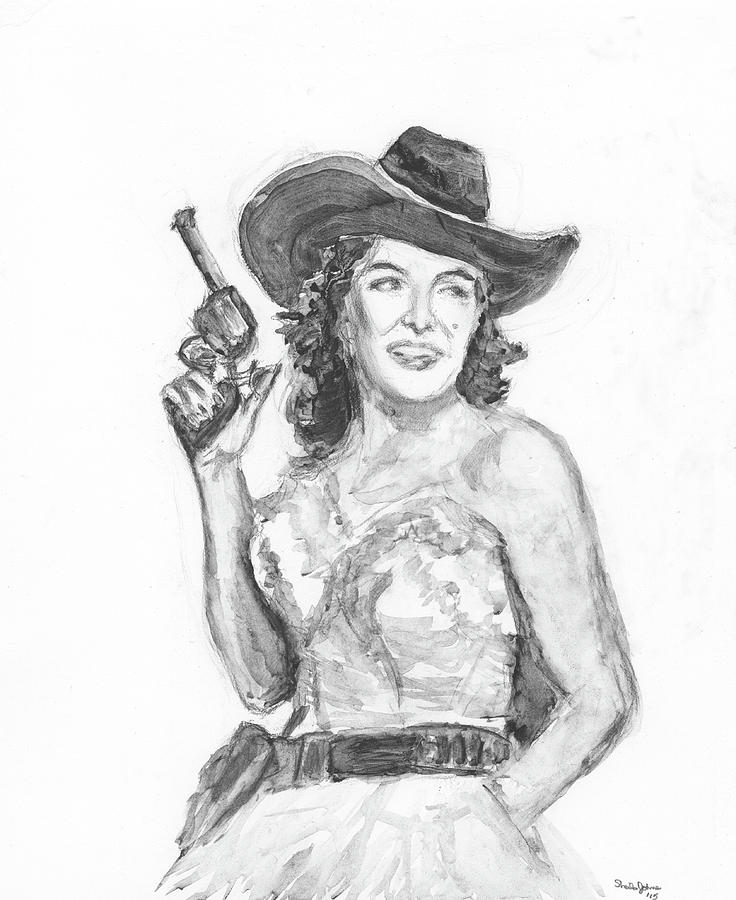 Jane Russell by Sheila Johns