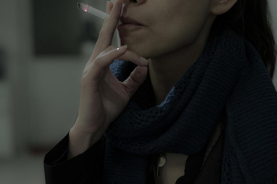 Smoke Photograph - Jane by Torchiam Sun