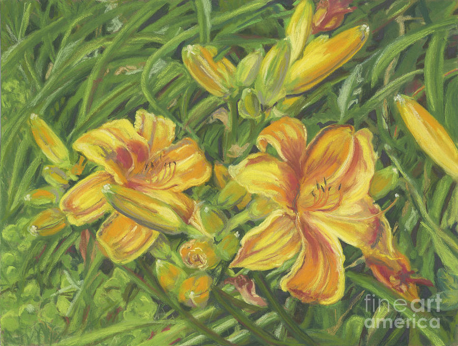 Jane's Lilies by Vicki Baun Barry