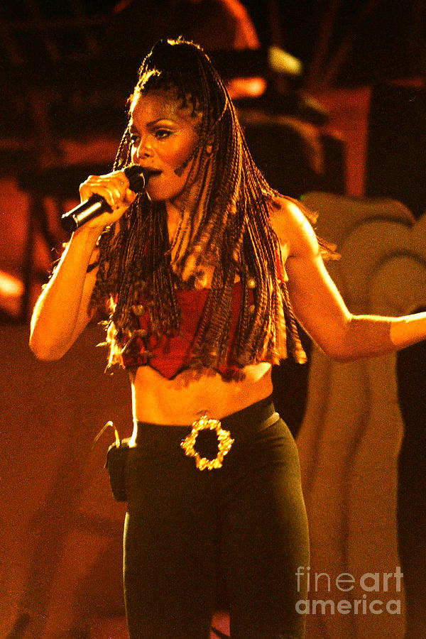 Janet Jackson Photograph - Janet Jackson 94-2994 by Gary Gingrich Galleries