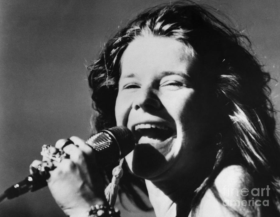 1960s Photograph - Janis Joplin (1943-1970) by Granger