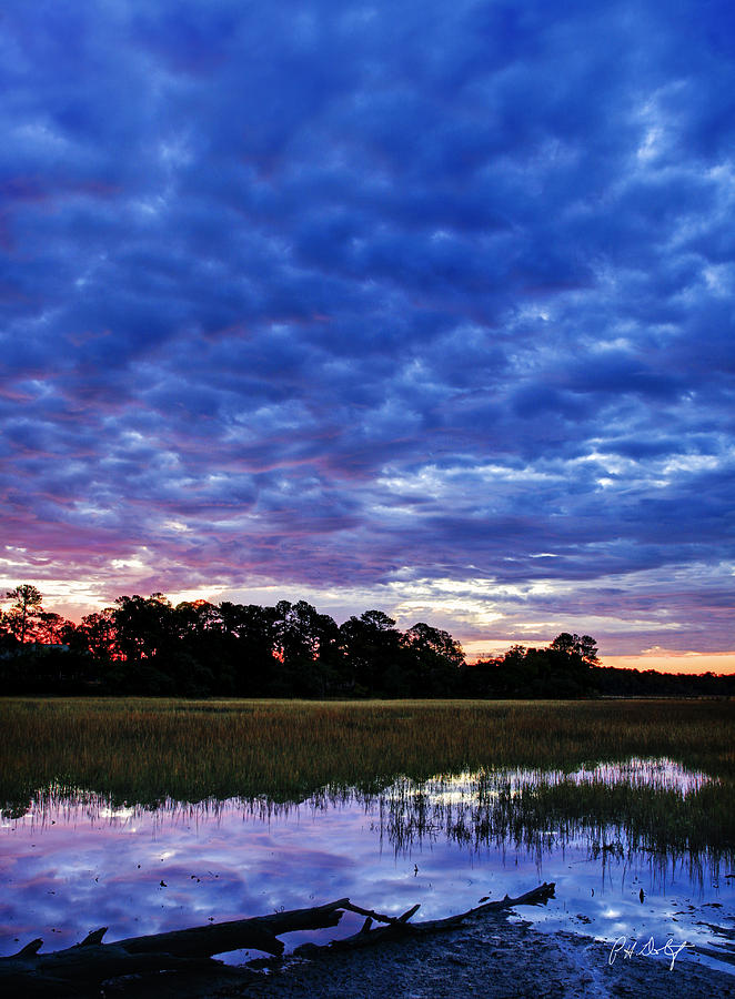 Clouds Photograph - January Morning by Phill Doherty
