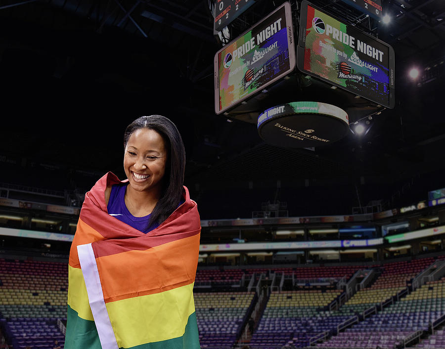 Wnba Photograph - January PRIDE 1 by Devin Millington