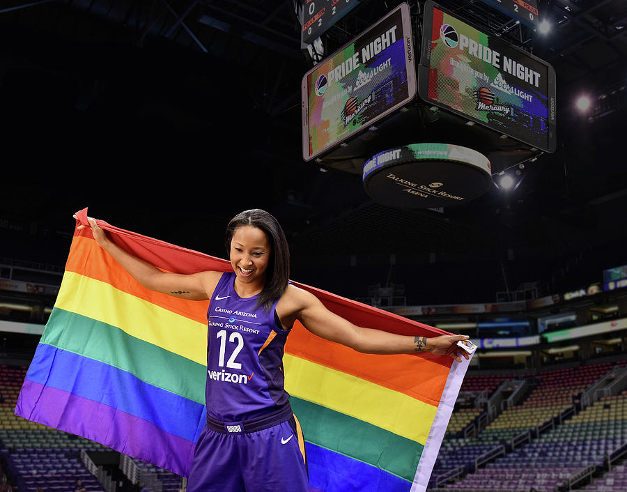 Wnba Photograph - January PRIDE 2 by Devin Millington