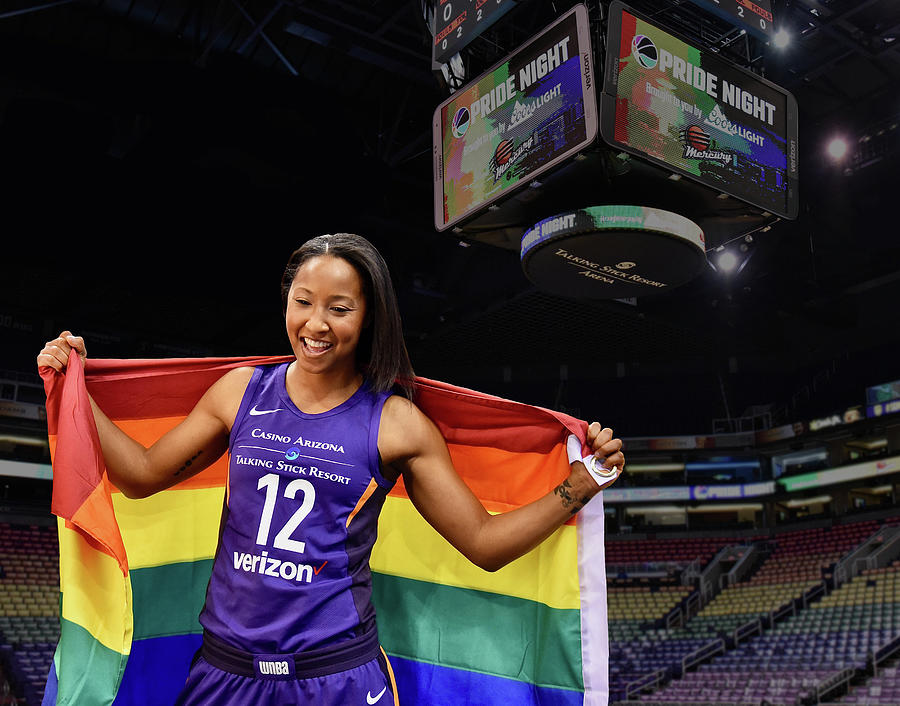 Wnba Photograph - January Pride 3 by Devin Millington