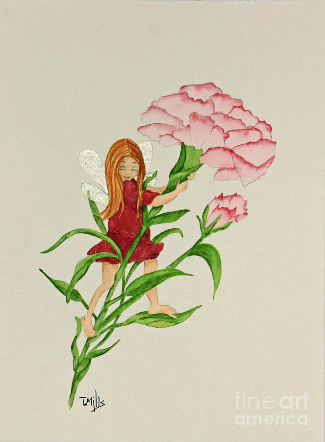 January Painting - January by Terri Mills