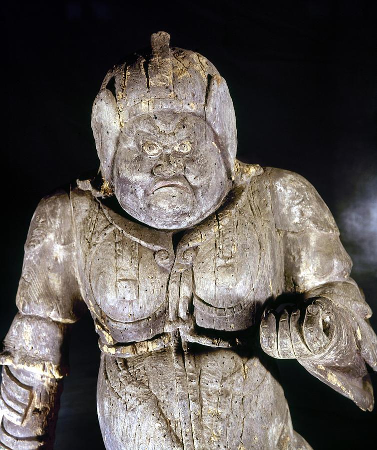 9th Century Photograph - Japan: Buddhist Statue by Granger