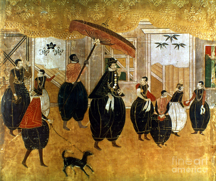 1549 Painting - Japan: St. Francis Xavier by Granger