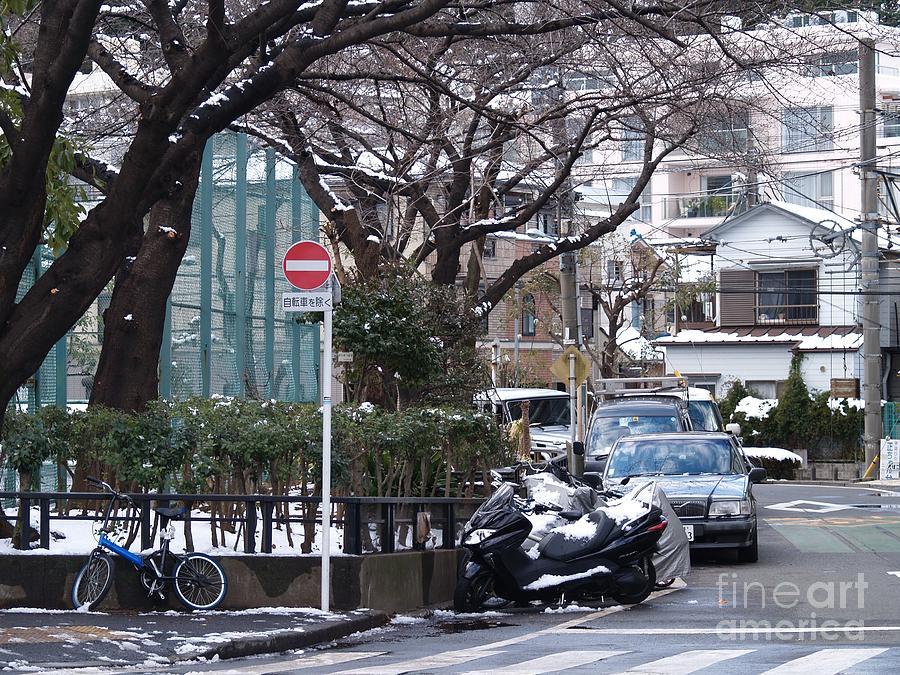 Japan Photograph - Japan Yoyogi Snow by Lee Tinglu