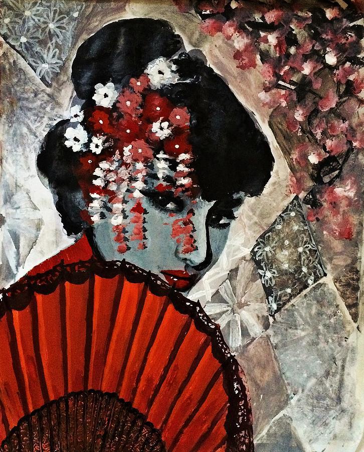 Japanese Painting - Japanese Art by Praisey Peter