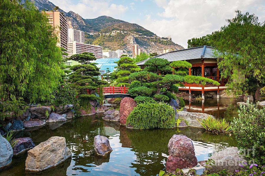 Japanese Garden In Monte Carlo Photograph