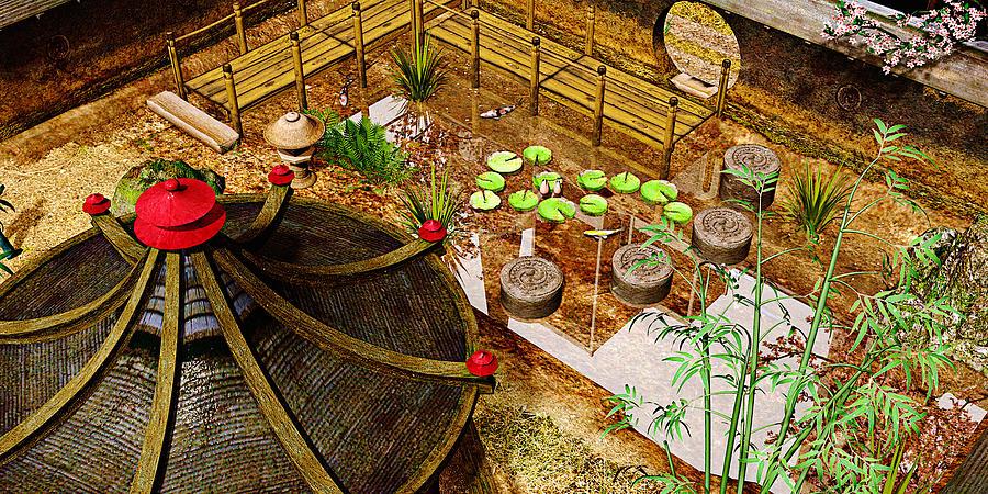 Garden Photograph - Japanese Garden by Peter J Sucy