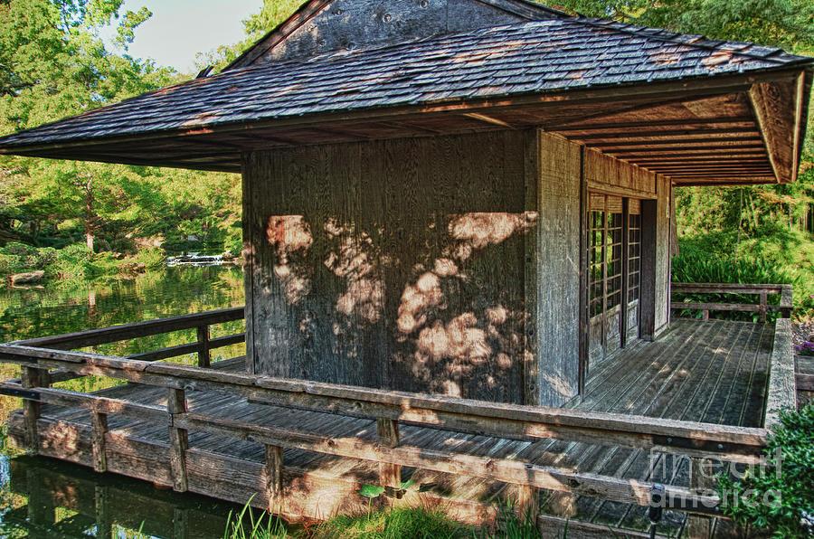 Teahouse Photograph - Japanese Teahouse by Tamyra Ayles