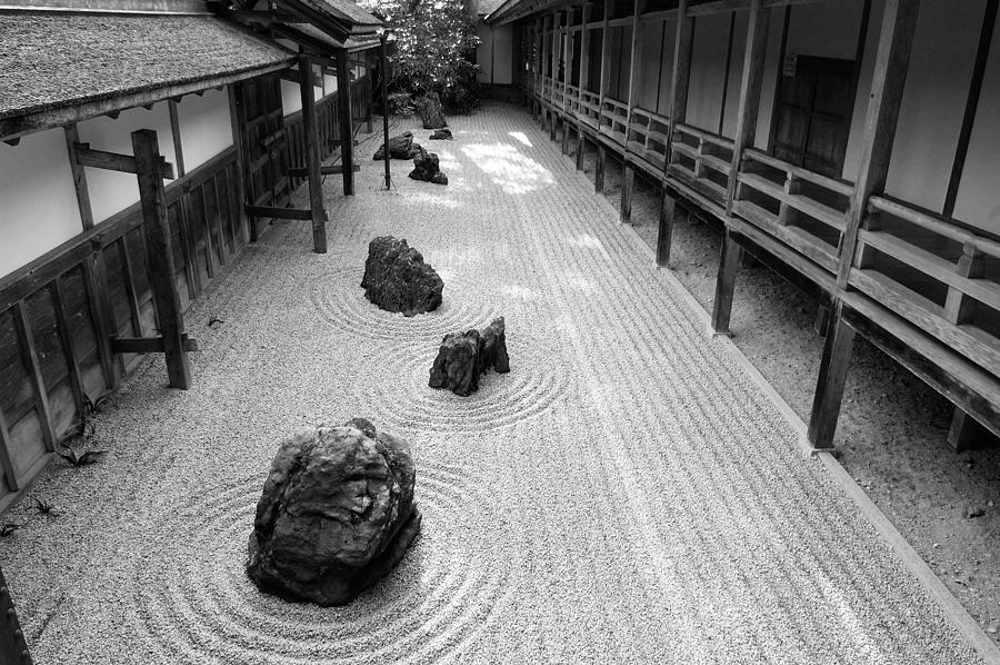 Japan photograph japanese zen garden by sebastian musial