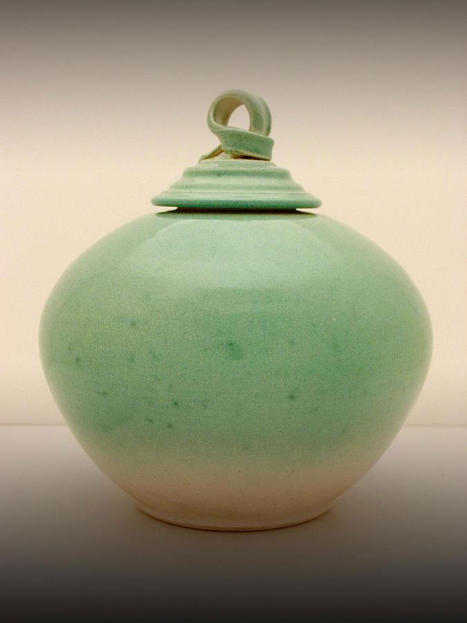 Ceramics Ceramic Art - jar by Alan Millican