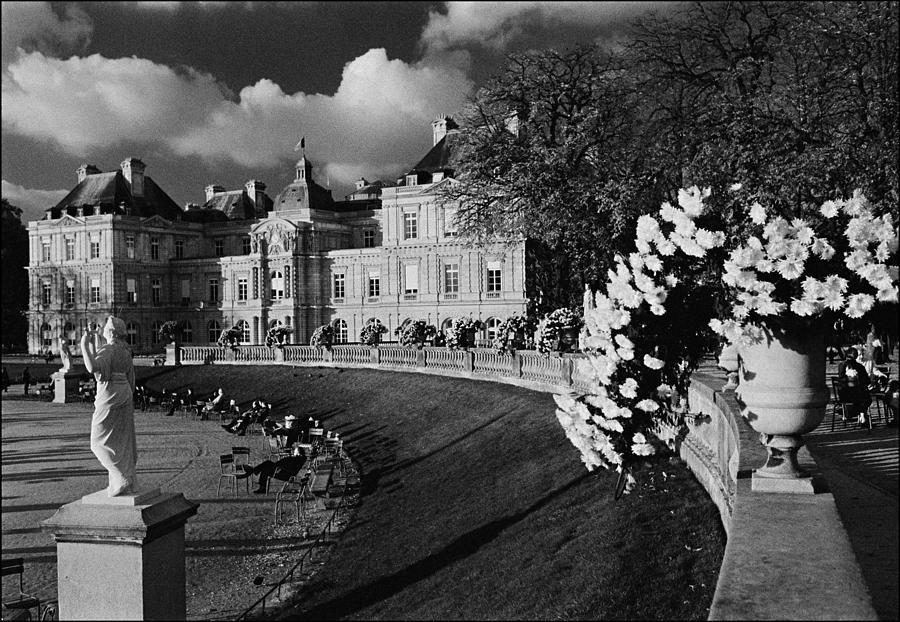Jardin De Luxembourg Photograph - Jardins de Luxembourg by Aldo Cervato