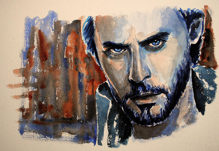Actor Painting - Jared Leto by Francoise Dugourd-Caput