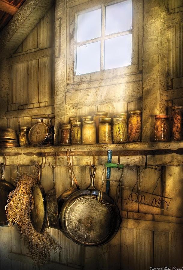 Savad Photograph - Jars - Winter Preserves  by Mike Savad