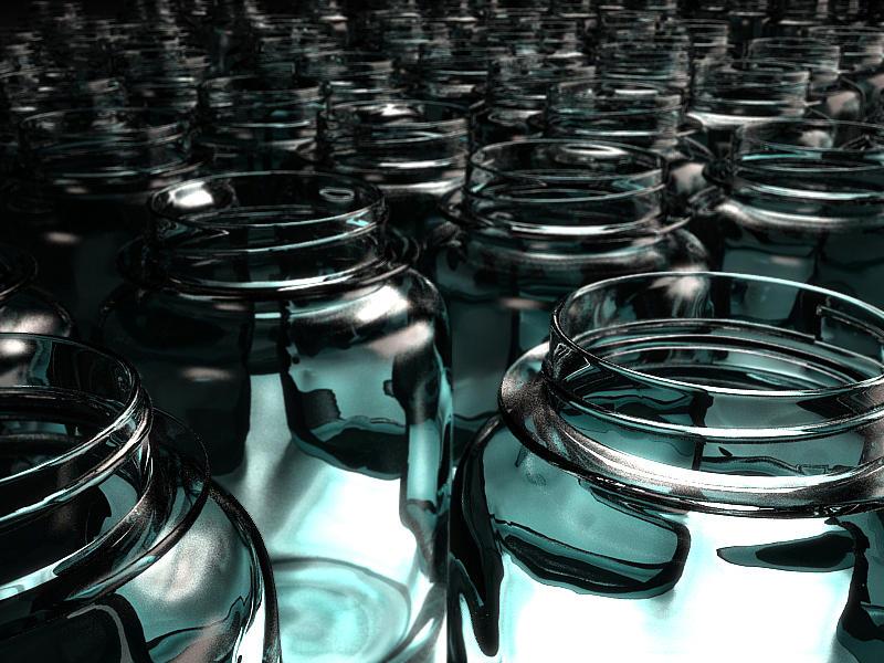 Jars Digital Art - Jars by Joel Lueck
