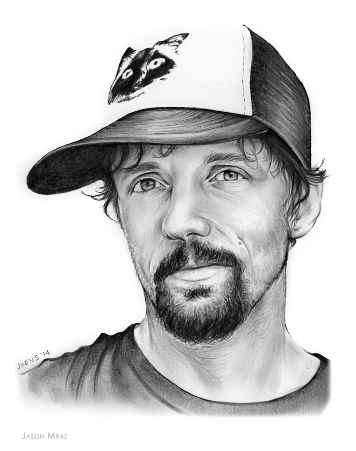 Jason Mraz Drawing