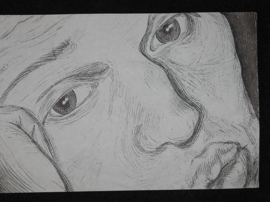 Jason Drawing by Sara Ashley