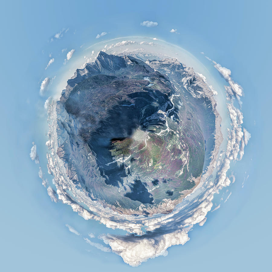 Jasper Tiny Planet by Heather Applegate