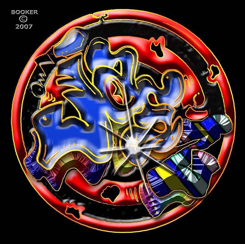 Logo Mixed Media - Jasz by Booker Williams