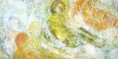 Jaune Femme Painting by Joyce Polance