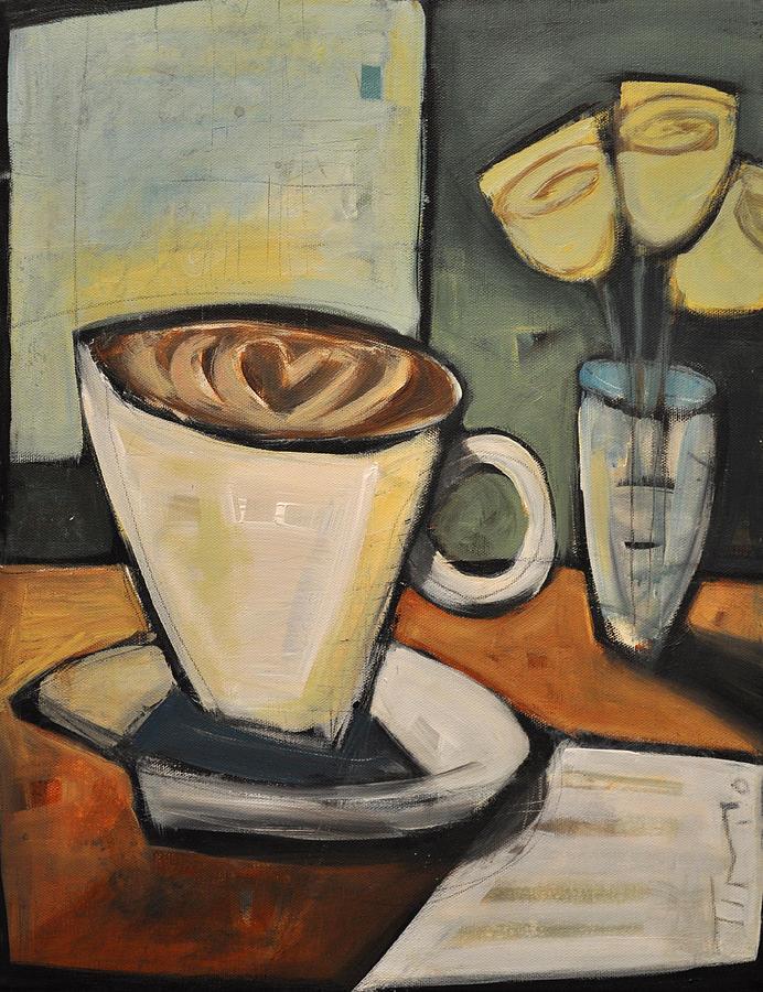 Java Painting - Java Love by Tim Nyberg
