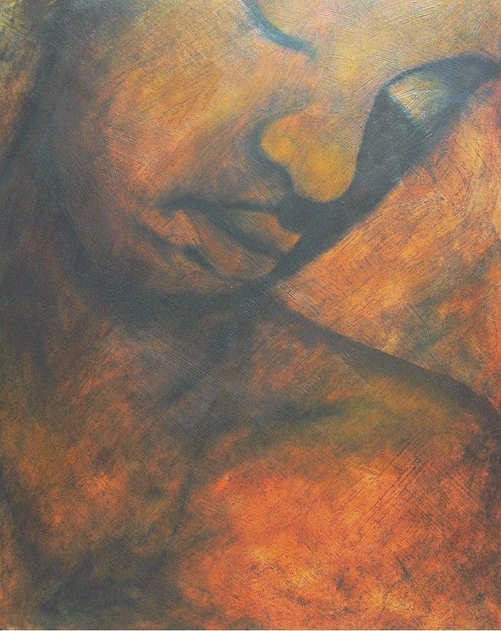 Javonne Painting by Cheryl Bosch