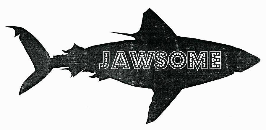 Jawsome Digital Art - Jawsome by Michelle Calkins