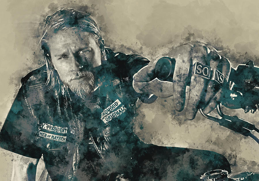 Jax Teller, Sons Of Anarchy Painting
