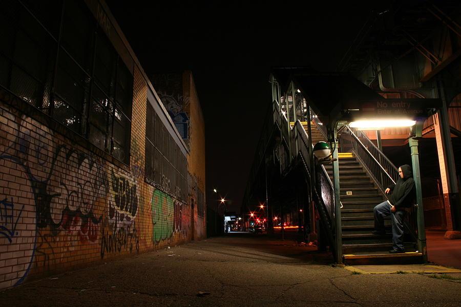Train Photograph - Jayhoc Waits by Jason Hochman