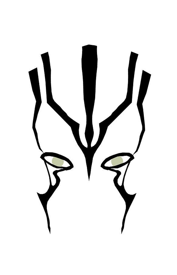 Star Trek Digital Art - Jaylah by Shane Ede