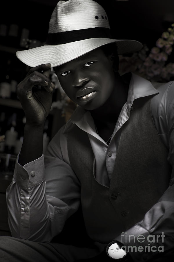Adult Photograph - Jazz And Blues Musician In Dark Bar by Jorgo Photography - Wall Art Gallery
