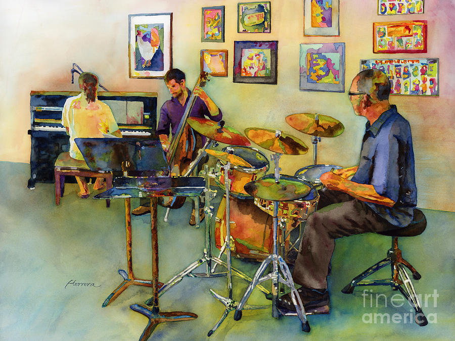 Jazz At The Gallery Painting