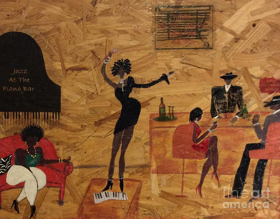 Jazz At The Piano Bar by Pamela Frison Robinson