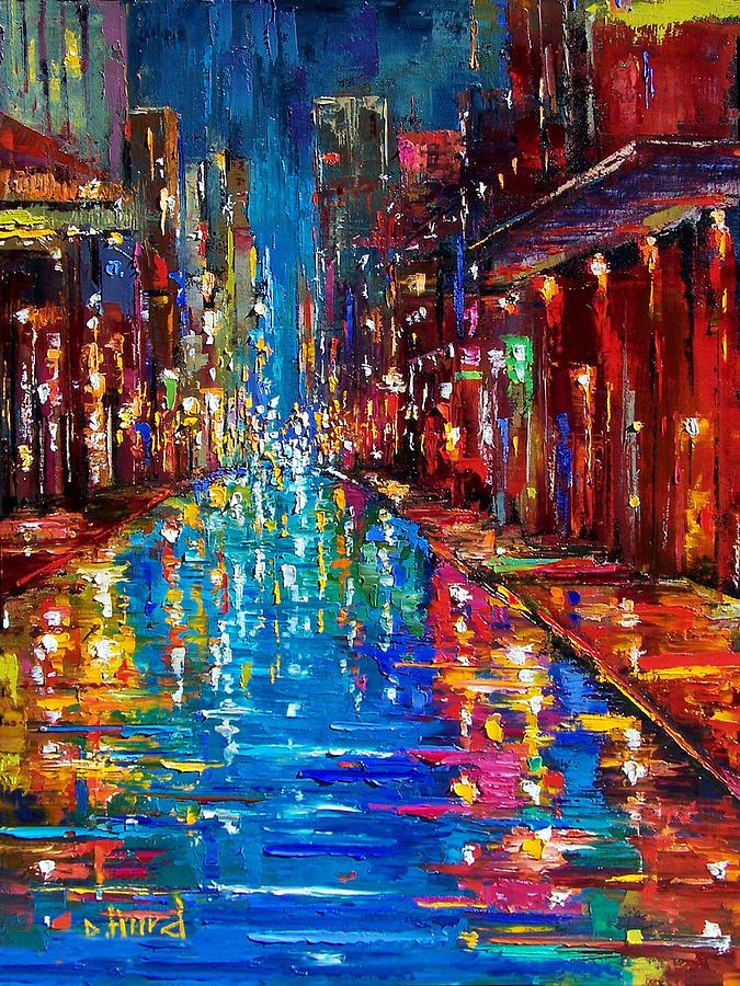 New Orleans Painting - Jazz Drag by Debra Hurd