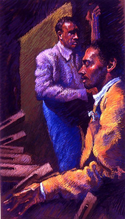 Jazz Pastel - Jazz by Ellen Dreibelbis