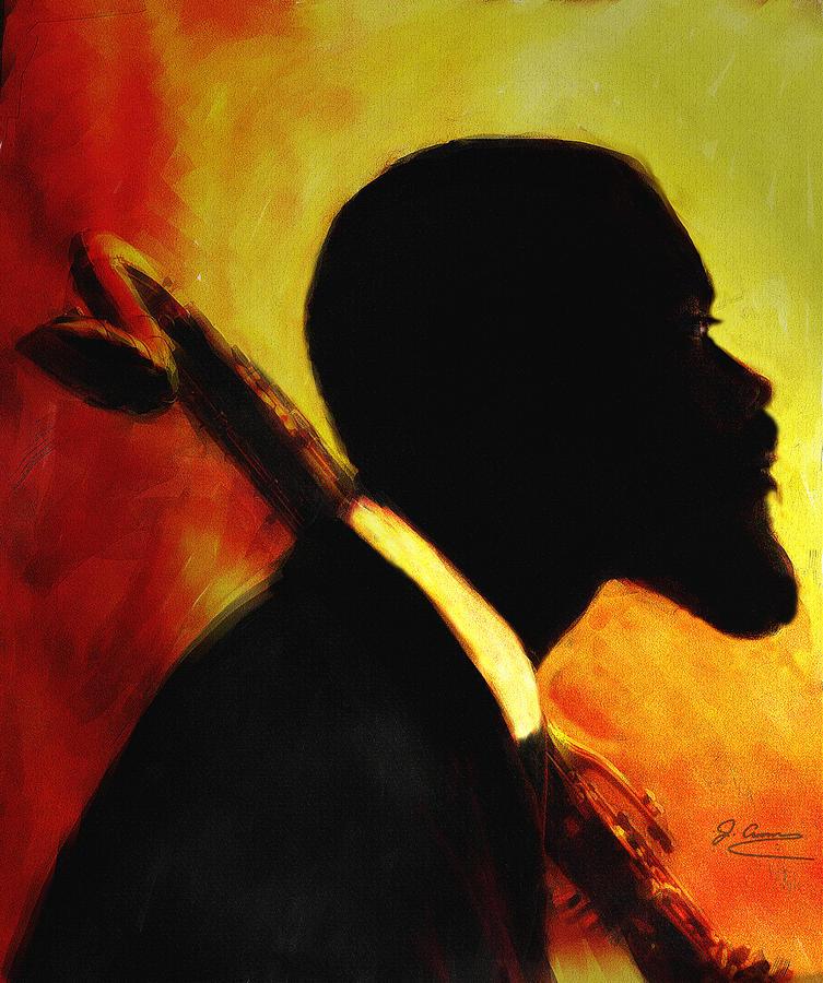 Jazz  Mixed Media by Jae Gregory