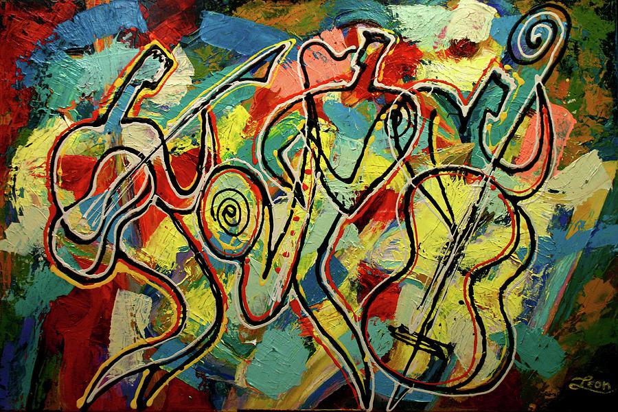 Jazz Rock Painting