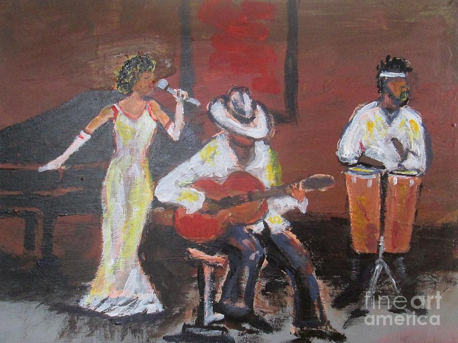 Jazz Trio by Jennylynd James