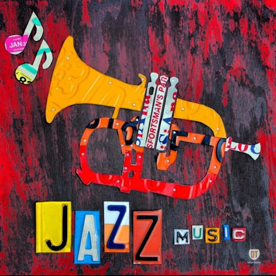 Trumpet Photograph - #jazz #trumpet #original #louisiana by Design Turnpike