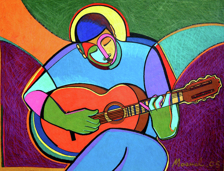 Music Mixed Media - Jazzin #4 by Bryan Masud McDowell