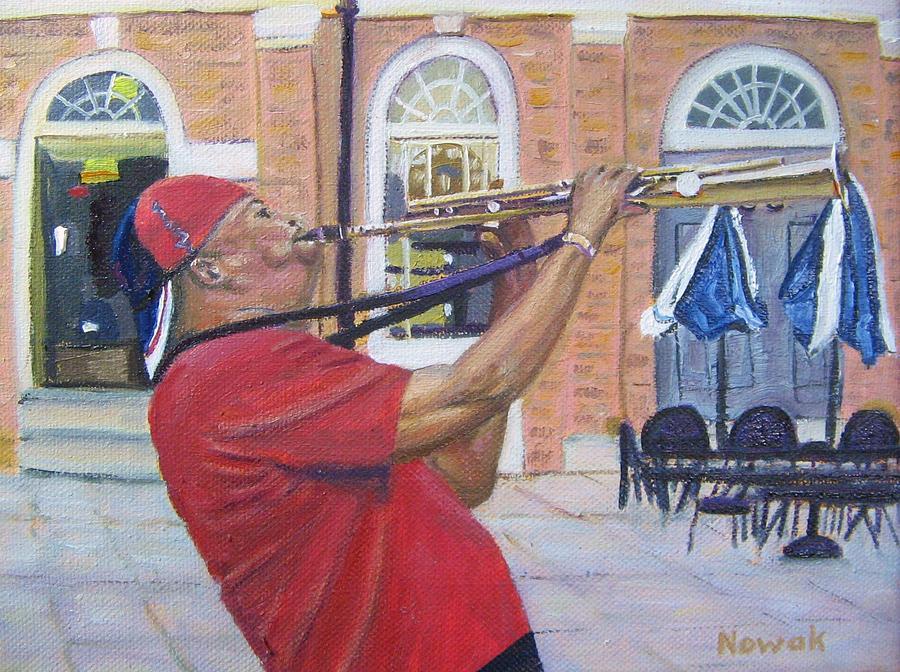 Musician Painting - Jazzin It Up by Richard Nowak